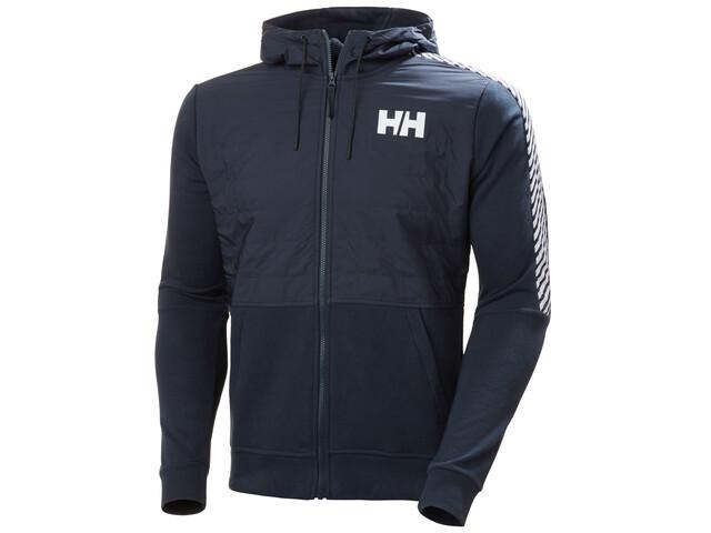 Helly Hansen Stripe Hybrid Jacket Men, navy